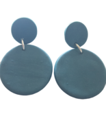 Handmade Polymer Clay Earrings Handcrafted Fashion Jewelry Unique Lightw... - $24.21
