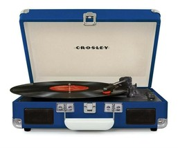 Crosley CR8005D Deluxe Cruiser Portable Bluetooth Turntable Record Playe... - £65.12 GBP