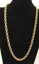 """vintage monet necklaces goldtone 26"""" Long - $5.94"""