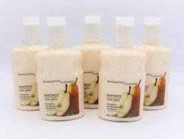 Bath & Body Works Original Classic Pearberry Pleasures Body Lotion Lot of 5 - $56.99