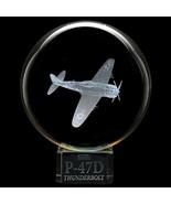 Dynasty Gallery P47 Thunderbolt Crystal Ball - $32.58