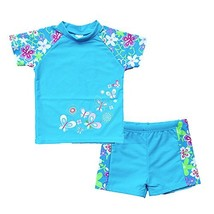 BAOHULU Girls Swimsuit UPF 50+ UV Protective 3-12 Years 3-4YTag.No 4A, B... - $21.34