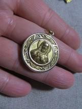 Antq, Victorian/Art Nouveau 10K Solid Gold Reversible JESUS / MADONNA  M... - $249.99