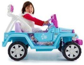 Power Wheels Disney Frozen Jeep Wrangler  - $171.00
