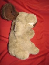 COMMONWEALTH STUFFED PLUSH HAND PUPPET HUG A PLUSH 1989 TAN BROWN PUPPY DOG image 4