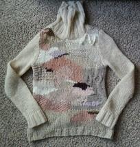 Rare Far Away From Close Anthropologie Wool Kid Mohair Alpaca Sweater S - $94.99