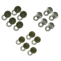 15-pack Waistband Extender - Spring Button with 3 Engraved Designs - Ela... - $9.88