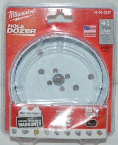 Primary image for Milwaukee 49560193 Bi Metal Hole Saw Hole Dozer 4 Three Quarters Inches