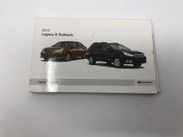 2012 Subaru Legacy/Outback Owners Manual Handbook Z0M01 - $28.79