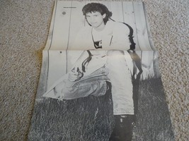 Brian Robbins Trey Ames teen magazine poster clipping squatting in the grass Bop