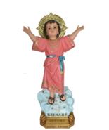 Divino Nino Divine Child Jesus 38 Inch Colored Resin Large Statue Figurine - $749.99