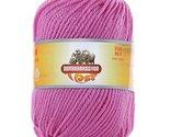 Luxury 100% Soft Lambswool Yarn Thick Quick Yarn Premium Soft Yarn, Pink Purple