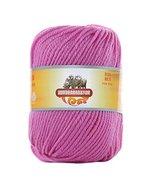 Luxury 100% Soft Lambswool Yarn Thick Quick Yarn Premium Soft Yarn, Pink... - £14.79 GBP