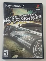 Need For Speed Most Wanted Black Edition PS2 Game Complete 2006 EA - $42.06
