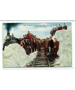 Train People En Route Mt McClellan Argentine Central Railway Colorado po... - $7.38