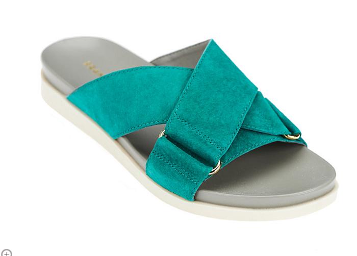 Franco Sarto Criss-cross Slide Sandals - and 26 similar items. 57