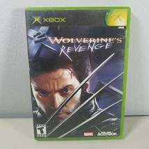Wolverines Revenge X2 Microsoft Xbox Video Game 2003 Rated T-Teen - $7.99