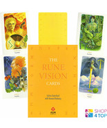 RUNE VISION CARDS DECK ORACLE SYLVIA GAINSFORD HOWARD RODWAY ESOTERIC AG... - $18.11