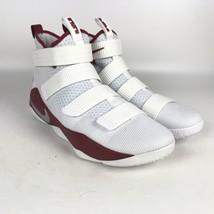 Nike Lebron Soldier XI TB Promo Basketball Shoes size 13.5 White 943155 105 - $78.21