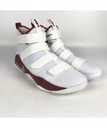 Nike Lebron Soldier XI TB Promo Basketball Shoes size 13.5 White 943155 105 - $78.21