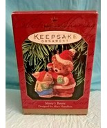 Mary's Bears ~1999 Hallmark Keepsake Christmas Ornament~Mary Hamilton Ne... - $12.86