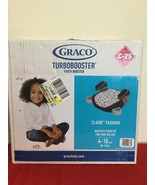 Graco Backless Turbo Booster Car Seat Kids Youth No Back Best Safety NIB - $25.00