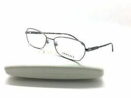 Versace Gunmetal 54mm Authentic Metal eyeglasses Frame MOD 1192 1001 - $87.27