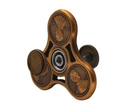 US Cent Brass Copper Fidget Spinner - One Spinner with Random Color and Design image 6