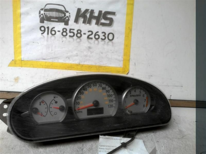 Primary image for Speedometer Sedan 4 Door MPH White Gauges Fits 03-04 ION 195242