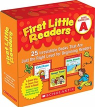 First Little Readers Parent Pack: Guided Reading Level A: 25 Irresistibl... - $9.85