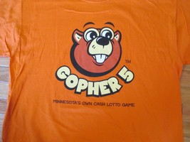 Gopher 5 Minnesota MN own State Lottery T Shirt Size XL - $6.99