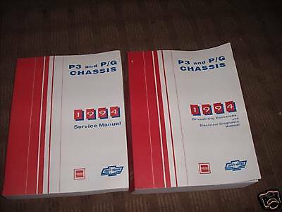 Primary image for 1994 Chevy GMC PG P3 CHASSIS Service Repair Workshop Shop Manual Set GM OEM
