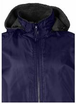 LAX Men's Premium Water Resistant Security Reversible Jacket With Removable Hood image 12