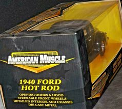 1940 Ford Coupe Stock Rod - 1:18 Scale with Box AA20-NC8153 Vintage Collecti image 4