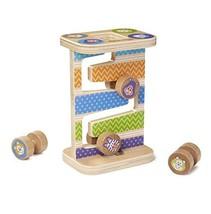 Melissa & Doug Safari Zig-Zag Tower Early Development Toy - $12.56