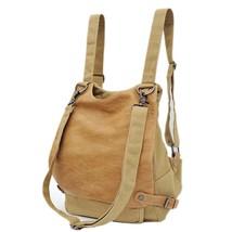 Casual Canvas Backpack for Women Travel School Backpack Rucksack Satchel... - €61,91 EUR