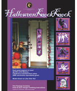 Halloween Knock Knock cross stitch chart Bobbie G Designs - $14.40