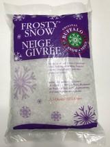 Buffalo Snow Frosty Flakes 3.5 Qt Bag Christmas Village Craft Artificial... - $246,73 MXN