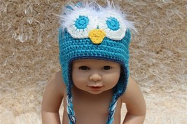 Handmade Knit Baby Child Kids Tassel Owl Hat  Beanie Newborn Photo Prop ... - $7.99