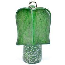 Tabaka Chigware Hand Carved Kisii Soapstone Green Angel Ornament Made in Kenya image 3