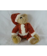 "Boyds Bears Sandy Santa Claus Teddy Bear Plush Doll 9"" fully jointed - $8.90"