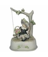 Pretty as Picture Kim Anderson figurine vtg Music box Beautiful Dreamer ... - $72.57