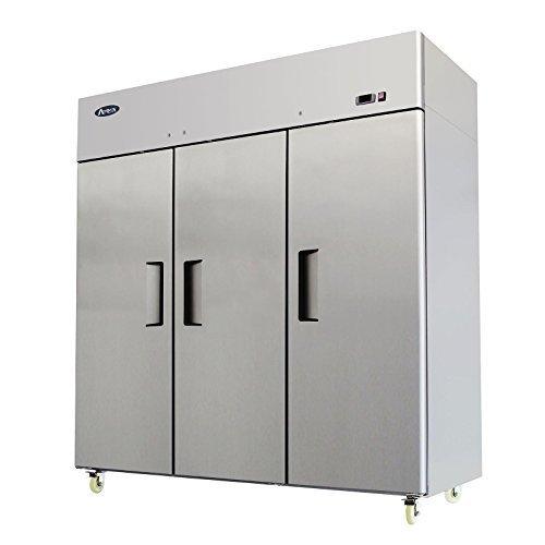 New Commercial 3 Door Stainless Steel Freezer. - $4,126.00