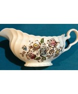 Johnson Brothers STAFFORDSHIRE BOUQUET Gravy Boat Great Condition Ultra ... - $123.75
