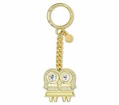 NWT Michael Kors Womens Gemini Rhinestone Fashion Keychain, Gold - $24.45