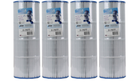 4) Unicel C-7477 Hayward Replacement Spa Pool Filter Cartridges - $229.99