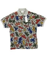 Men's Lacoste x Keith Haring Polo Shirt Multi-Color Allover Print L XL X... - $200.00