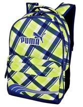 """PUMA ARCHETYPE Plaid Adult /Youth Full-Size 17.5"""" Backpack w/ Laptop Sle... - $22.76"""