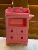 2013 Baby Diaper Changing Table Kids Toy Doll Crib Nursery Furniture By ... - $23.20