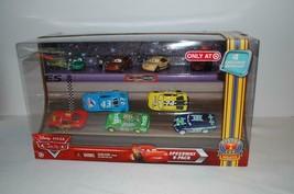 Disney Pixar Cars Speedway 9 Pack Diecast Car Set Target Exclusive NIB - $58.19